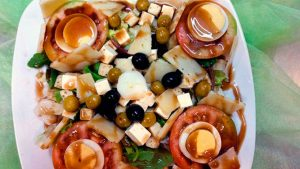 platos combinados ensalada la poma vilaseca