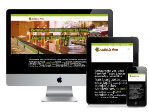 web restaurante vilaseca la poma