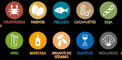 Los alérgenos alimentarios